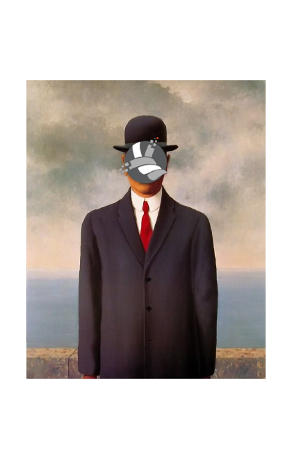Magritte Twisted Art